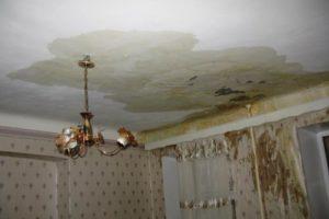Соседи затопили квартиру