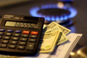 Тарифы на газ по счетчику