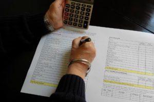 расчет налога при продаже наследства